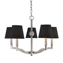 Golden 3500-5 PW-GRM - 5 Light Chandelier