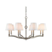 Golden 3500-8 PW-CWH - 8 Light Chandelier