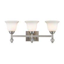 Golden 3500-BA3 PW - 3 Light Bath Vanity