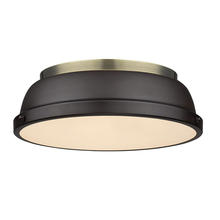 Golden 3602-14 AB-RBZ - Flush Mount