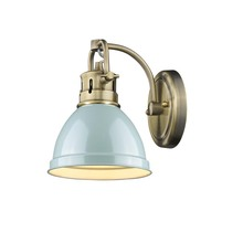 Golden 3602-BA1 AB-SF - 1 Light Bath Vanity