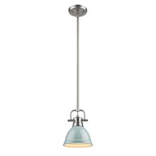 Golden 3604-M1L PW-SF - Mini Pendant with Rod