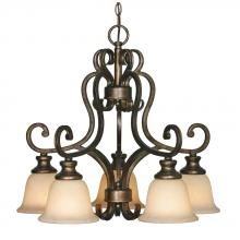 Golden 8063-D5 BUS - 5 Light Nook Chandelier