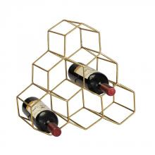 Sterling Industries 51-026 - Angular Study Hexagonal Wine Rack