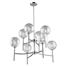 Steven & Chris SC13128CB - Hamilton SC13128CB 8 Light Chandelier