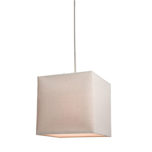 Steven & Chris SC540OM - Mercer Street 2 Light  Oatmeal Chandelier
