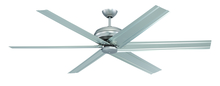 "Ellington Fan COL72BP6 - Colossus 72"" Ceiling Fan with Blades in Brushed Pewter"