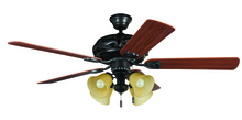 "Ellington Fan GD52ABZ5C - Grandeur with 4-light Kit 52"" Ceiling Fan with Blades and Light in Aged Bronze Brushed"