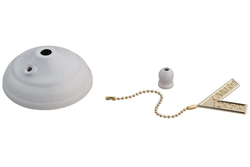 Lighting Solutions in Ringoes, New Jersey, United States,  MC83WH, Pull Chain Type Bowl Cap Kit - White,
