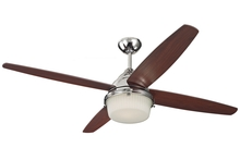 "Monte Carlo 4MDR52PND - 52"" Mondeo Fan - Polished Nickel"