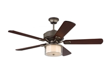 "Monte Carlo 5HLR54AGP - 54"" Hillsborough - Aged Pewter"