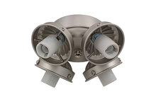 Monte Carlo H4BP-L - 4 Light Fitter - Brushed Pewter