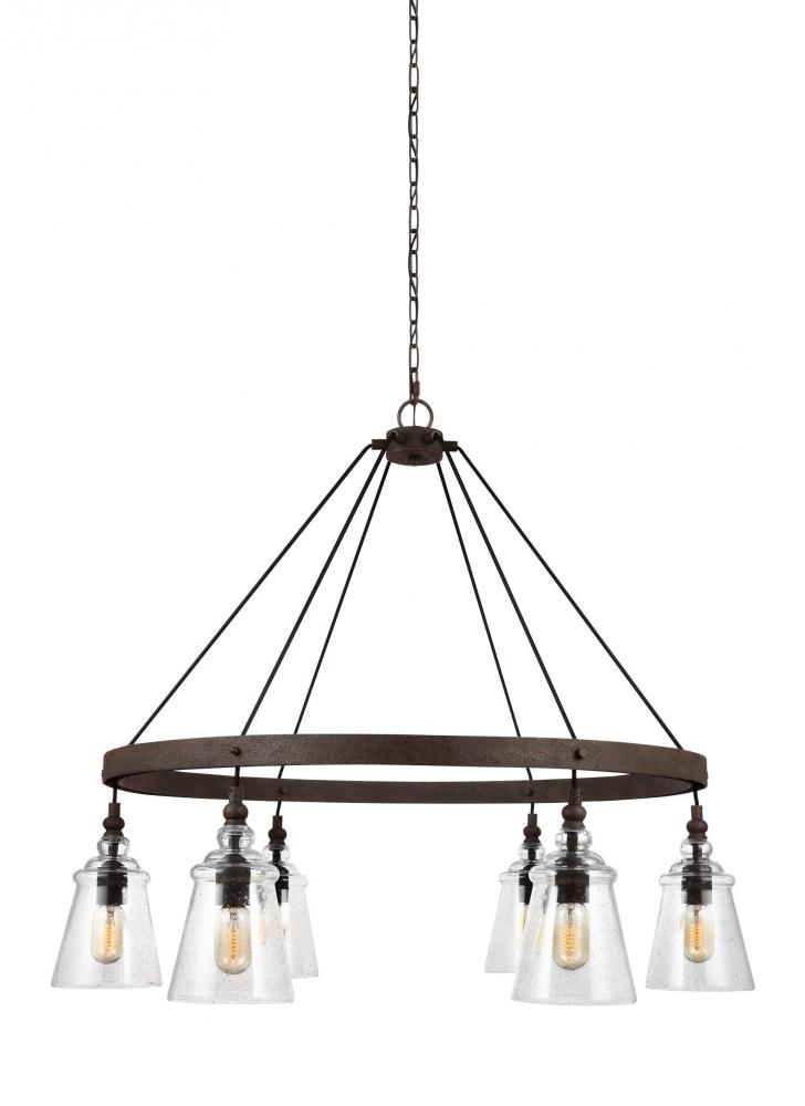 Lighting Solutions in Ringoes, New Jersey, United States,  F3170/6DWI, 6 - Light Chandelier, Loras