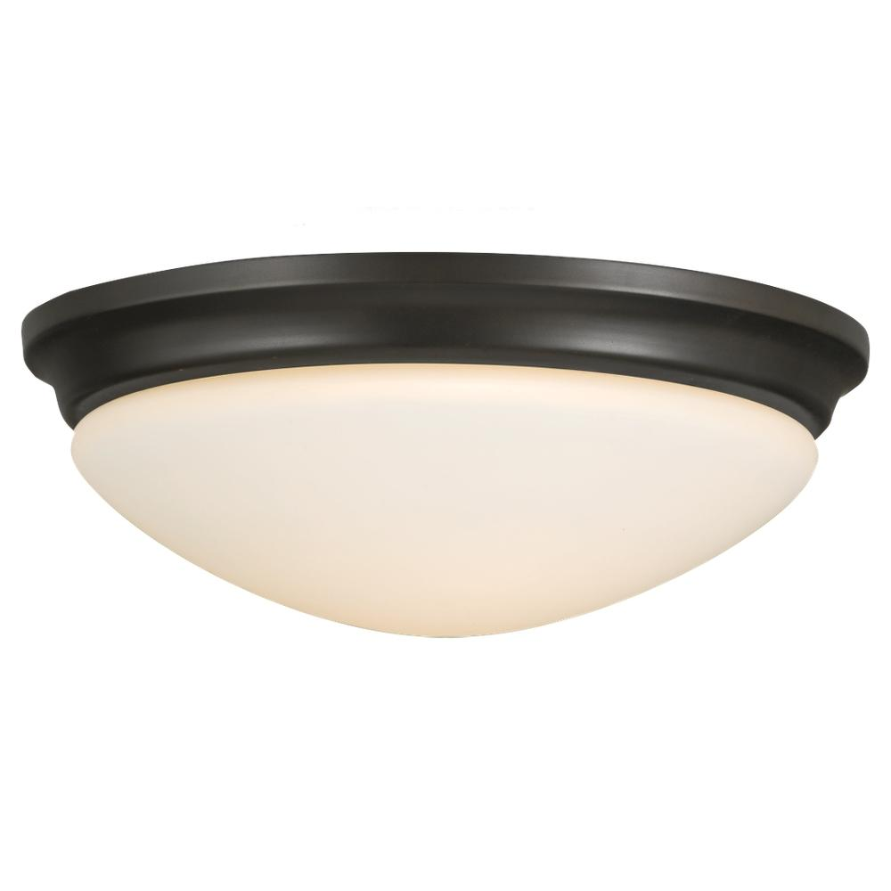 Lighting Solutions in Ringoes, New Jersey, United States,  FM272ORB, 2- Light Indoor Flush Mount, Barrington