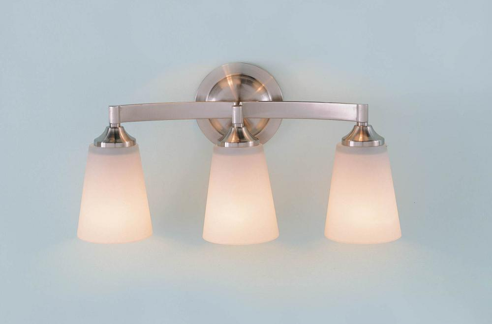 Lighting Solutions in Ringoes, New Jersey, United States,  VS9403-BS, 3- Light Vanity Fixture, Gravity