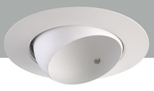 "Elegant RE18WH - 6"" Line voltage White Eyeball Trim"
