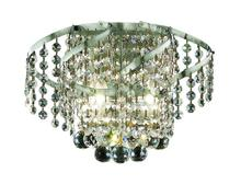 Elegant VECA1W12C/EC - Belenus Collection Wall Sconce D:12in H:8in E:9in Lt:2 Chrome Finish (Elegant Cut Crystals)