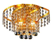 Elegant VECA1W12G/EC - Belenus Collection Wall Sconce D:12in H:8in E:9in Lt:2 Gold Finish (Elegant Cut Crystals)