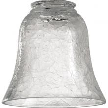 "Quorum 2807 - 2.25"" Clear Crackle Glass"