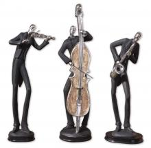 Uttermost 19061 - Uttermost Musicians Decorative Figurines, Set/3