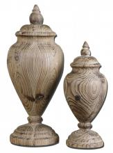 Uttermost 19613 - Uttermost Brisco Carved Wood Finials, Set/2