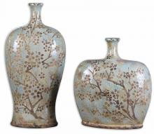 Uttermost 19658 - Uttermost Citrita Decorative Ceramic Vases Set/2
