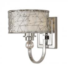 Uttermost 22484 - Uttermost Brandon 1 Light Nickel Plated Wall Sconce
