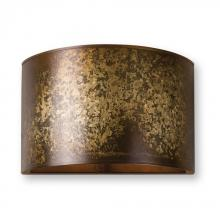 Uttermost 22500 - Uttermost Wolcott 1 Light Golden Sconce