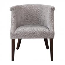 Uttermost 23345 - Uttermost Arthure Barrel Back Accent Chair