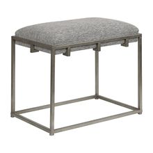 Uttermost 23471 - Uttermost Edie Silver Small Bench