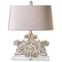 Uttermost 26658 - Uttermost Schiavoni Ivory Stone Table Lamp