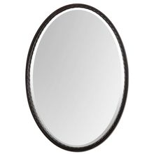 Uttermost 01116 - Uttermost Casalina Oil Rubbed Bronze Oval Mirror