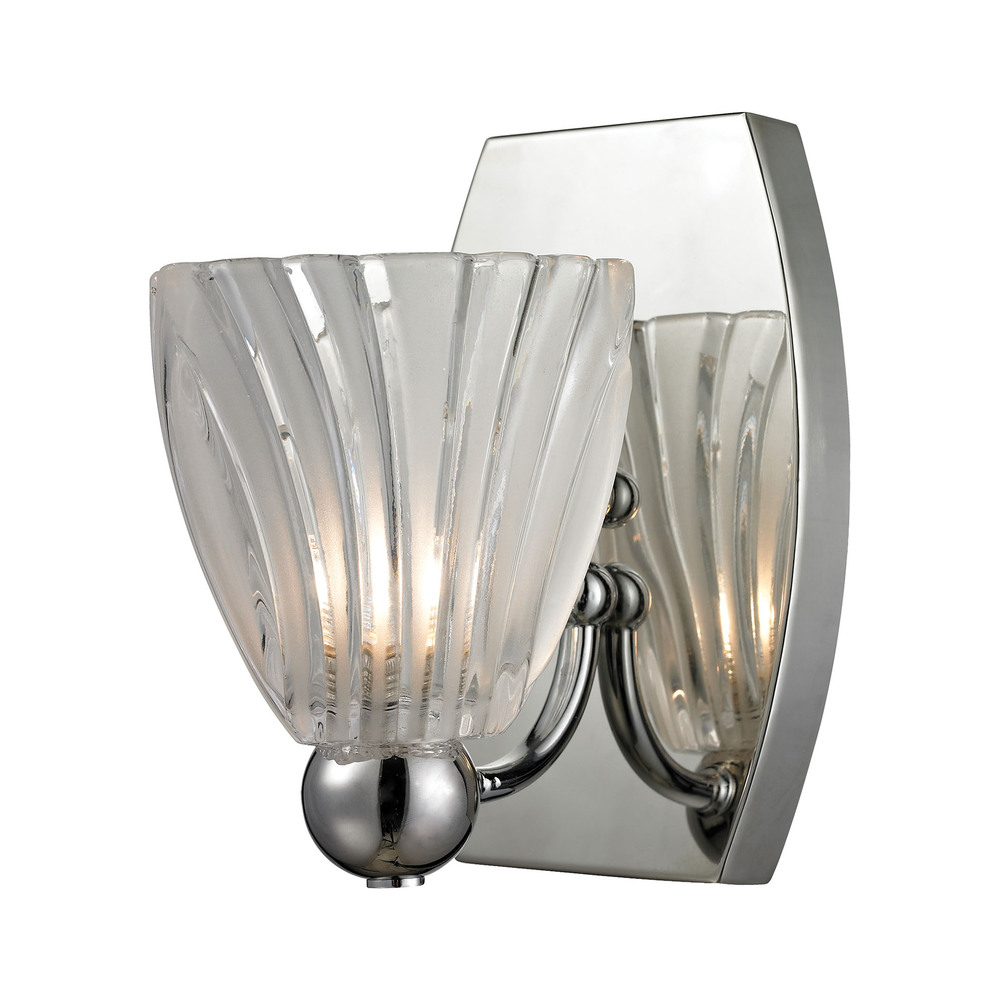 Lighting Solutions in Ringoes, New Jersey, United States,  11790/1, Lindale 1 Light Vanity In Polished Chrome And Sc, Lindale