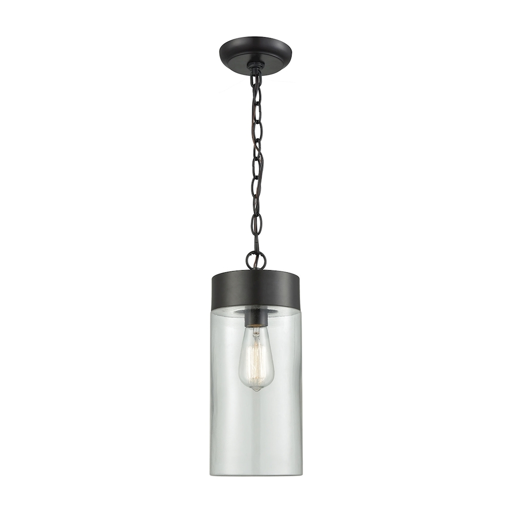 Lighting Solutions in Ringoes, New Jersey, United States,  45027/1, Ambler 1 Light Outdoor Pendant In Oil Rubbed Bro, Ambler