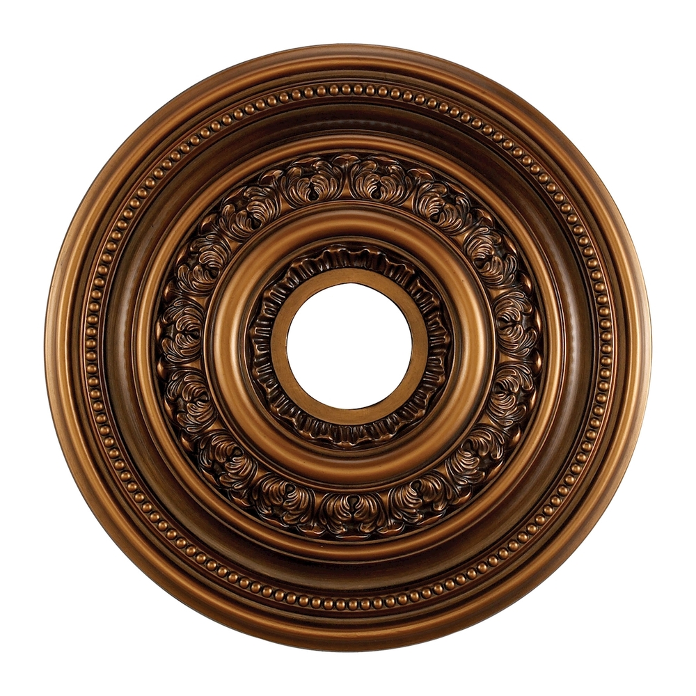 English Study 18-Inch Medallion In Antique Bronz
