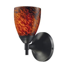ELK Lighting 10150/1DR-ES - Celina 1 Light Sconce In Dark Rust And Espresso