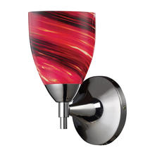 ELK Lighting 10150/1PC-A - Celina 1 Light Sconce In Polished Chrome And Aut