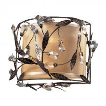 ELK Lighting 18130/2 - Circeo 2 Light Sconce In Deep Rust And Glass Cry
