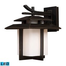 ELK Lighting 42171/1-LED - Kanso 1 Light Outdoor LED Sconce In Hazelnut Bro