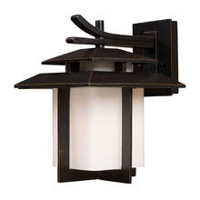 ELK Lighting 42171/1 - Kanso 1 Light Outdoor Sconce In Hazlenut Bronze