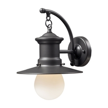 ELK Lighting 42406/1 - Maritime 1 Light Outdoor Wall Sconce In Graphite