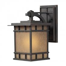 ELK Lighting 45011/1 - Newlton 1 Light Outdoor Sconce In Weathered Char