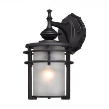 ELK Lighting 46250/1 - Meadowview 1 Light Outdoor Sconce In Matte Black