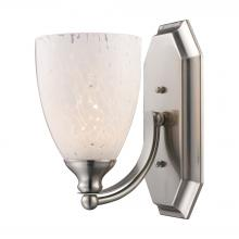 ELK Lighting 570-1N-SW - Bath And Spa 1 Light Vanity In Satin Nickel And